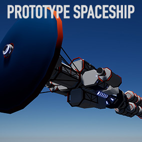 Newtonian Spaceship with multiple turret support
