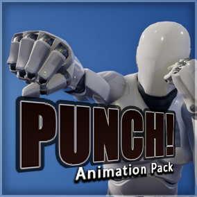 Pack containing several boxing animations