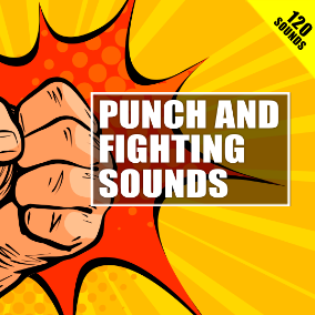 120 high-quality sound effects for realistic punches, kicks, arms swings, body falls and magical attacks.