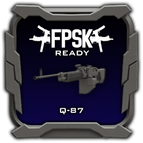 FPSK Ready Q-87 model and animations.