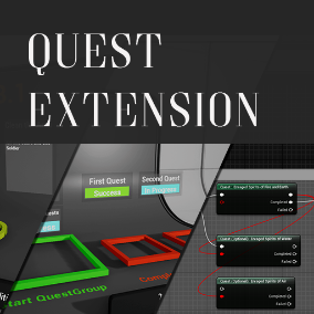 A plugin that provides a fully featured, non-linear and flexible Quest System to Unreal Engine 4