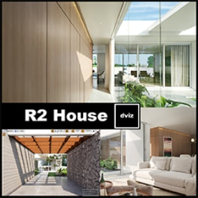 Photorealistic and Complete Archviz Project- Amazing to Study - Blueprints, Grass, Trees, Furnitures, Pivot Painter Wind System...