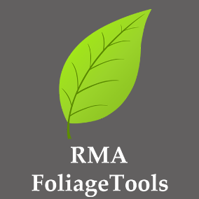 RMAFoliageTools offers some features like convert FoliageInstance to StaticMeshActor and vise versa and also a buffer system that makes it possible to transfer FoliageInstance to other levels without  any difficulty.