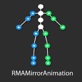 RMAMirrorAnimation offers an easy way to mirror animations without coding.