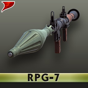 RPG-7 Grenade Launcher with all kinds of unique VFX/SFX and Animations.