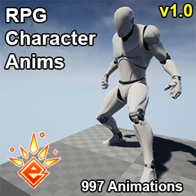 A complete set of 997 high quality RPG Character animations.