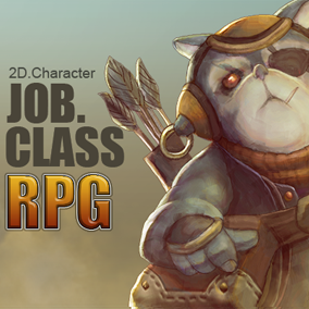 10 RPG Job Class (Animal/Monster) Character Icon(PNG File With Alpha)
