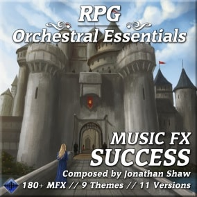 180+ diverse musical effects for successful events, quest clears, item finds, craft success and more!