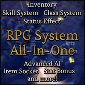 Feature Rich RPG System Framework with Multiplayer and AI