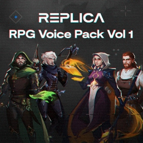 RPG Voice Pack Vol 1 (AI Voice Actors)
