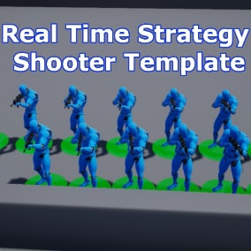 A fully customizable template for creating your own Real Time Strategy Shooter Game with a working cover system and real-time navigation