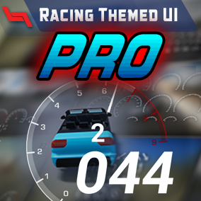 Racing interfaces and widgets for your driving games.