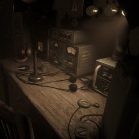 Radio Room Props