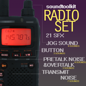 Sound noises and components to enhance your radio-set component.