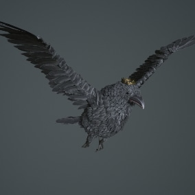 the crow is an excellent addition for the game