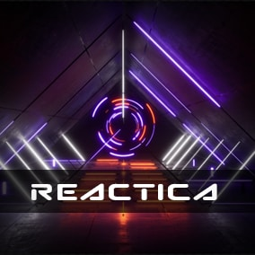 Audio synesthesia based neon dynamic lighting environments / stages