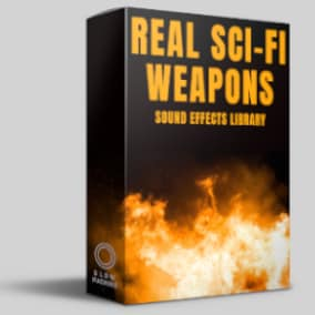 Real Science Fiction Weapons is the ultimate library of high-quality, futuristic weapon sounds for the Unreal Engine.