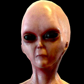 Have you ever dreamed about realistic aliens in your SciFi and Horror projects?  Here they are!