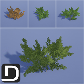 48 High quality realistic bushes to bring your environments to life!
