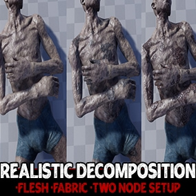 Looking for a more realistic way to dispose of your characters? Add Realistic Decomposition to your game! This asset can be added to your project in less than two minutes and is entirely non-destructive!