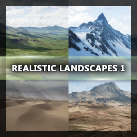 4 Landscapes - Good Value and Quality
