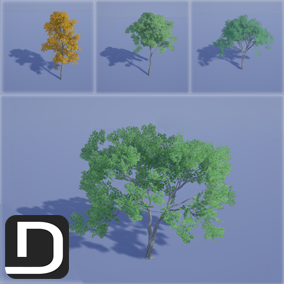 45 high quality trees with customizable wind effects!