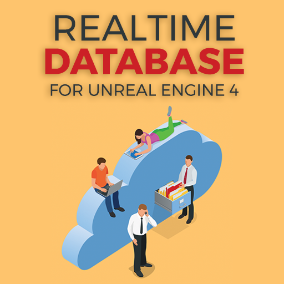 The Realtime Database plugin lets you integrate out-of-the-box Firebase Realtime Database into your Unreal Engine project (compatible with all platforms).