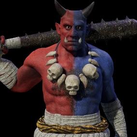 PBR Fantasy monster for games