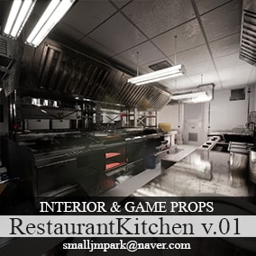 Restaurant Kitchen Props v.01