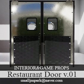 Restaurant&Swinging Door Props v.01