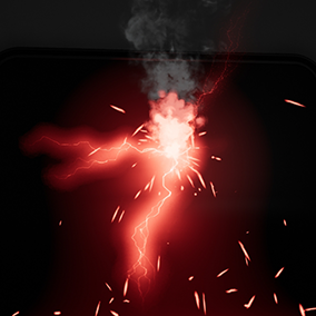 A collections of sparks, arcs and bolts for your electrical VFX needs.