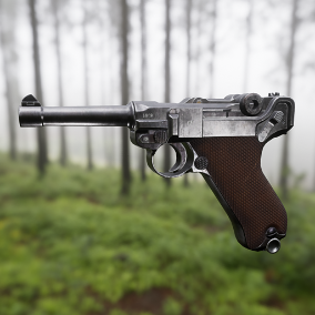High quality weapon with 4K texture, animations, LODs and FX.