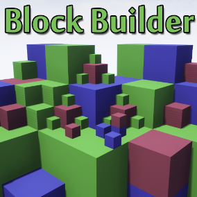 Build blocks in first person.