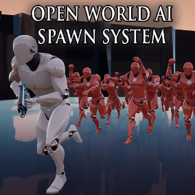 An easy to use spawn system that will save you a lot on performance in open world games. Spawning and despawning are both taken care of by the Blueprints in this project, example AI is also included.