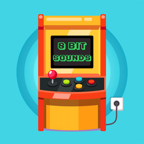 Retro 8 Bit Sounds is a perfect collection of 1001 retro game sound effects.