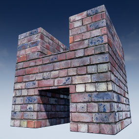 Highly customizable brick materials with seamless textures. The pack includes a set of 25 material instance versions for windows/console, and an additional set of 25 material instance versions for mobile devices.