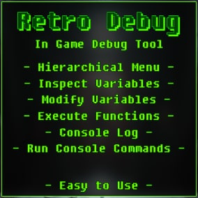 Retro Debug: In Game debug tool.