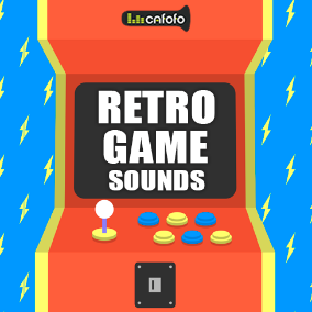 470 polished classic sounds for your retro arcade games!
