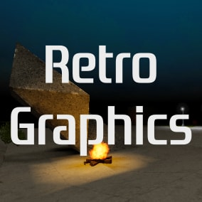 90s style graphics asset pack