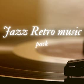 A collection of 10 jazz and retro  music, that is fully composed from scratch. Suitable for retro scene, background etc.