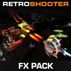 Retro Shooter FX Pack with Special Shaders