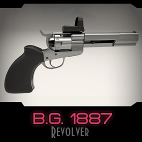 Modular 'Wild West' style revolver with modern body-kit.