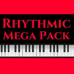 Rhythmic Mega Pack has 47 tracks and 138 minutes of audio!