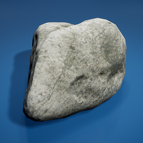 High quality photo-scanned small river stones. With LOD1 and LOD2 models.   Update March 2016: Added Desert stones.