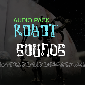 + 100 High Quality Robot Sounds For Your Game!