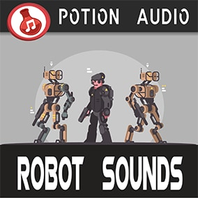 156 High-Quality Robot Sounds