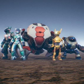5 Robot Warriors