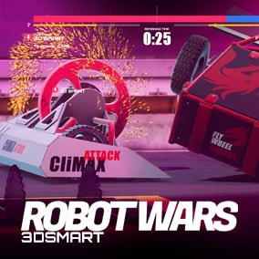 This package includes the complete template of the robot war game.