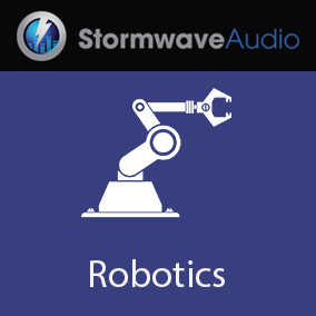 A set of 10 recordings of real industrial machinery and vehicles containing heavy robotic servos.