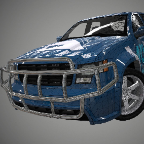 Ready-to-use 3D car model in the project. Stunning visual quality and detailed study of all elements (Salon, Engine, bottom, wheels). It is carefully optimized for maximum performance on all modern devices.